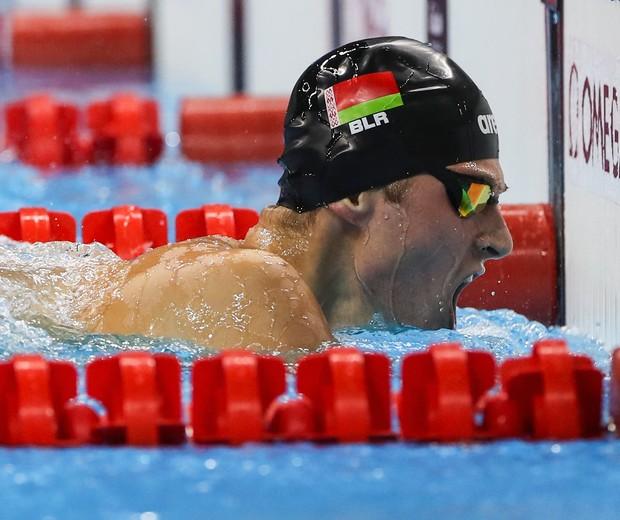 O nadador Ihar Boki  (Foto:  Buda Mendes/Getty Images)
