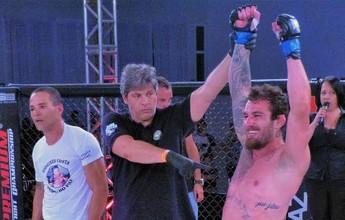 Curtinhas: após superar aneurisma, lutador finaliza rival no Premium Fight