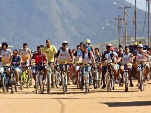 Passeio já foi realizado em diversos pontos da cidade. (Foto: Divulgação/ Ascom Maricá)