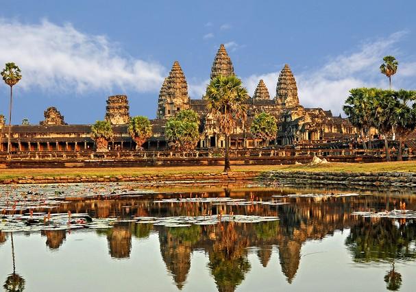 Riqueza cultural no Camboja (Foto: Reprodução)