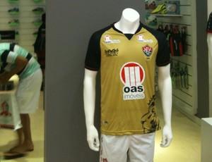 terceira camisa vitória (Foto: Raphael Carneiro / Globoesporte.com)