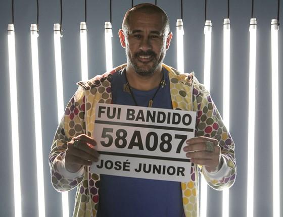 José Júnior, do AfroReggae, comanda a série Fui bandido que estreia domingo (4), no Multishow (Foto: Divulgação)