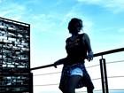 Bruna Marquezine posa no Vidigal e cita música: 'Dias de luta'