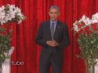 Obama recita versos de amor para Michelle em programa de TV ao vivo
