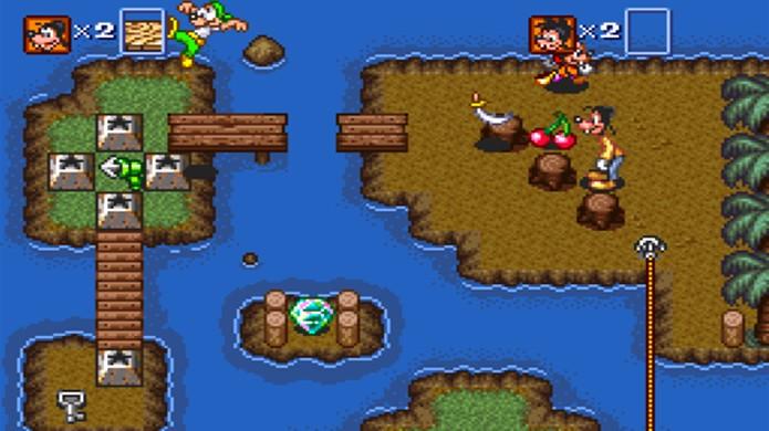 A aventura de pateta no Super Nintendo tinha fortes influências de The Legend of Zelda (Foto: Game Fabrique)
