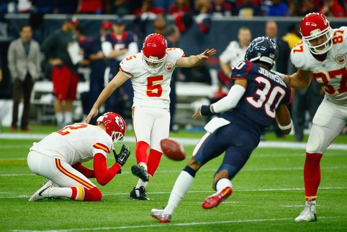 Cairo Santos - Kansas City Chiefs x Houston Texans - NFL playoffs (Foto: Getty Images)