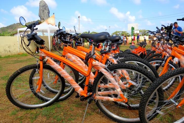 Bicicletas doção Noronha