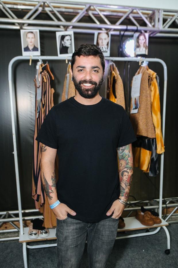O estilista Lucas Magalhães (Foto: Divulgação/Gustavo Romanelli)