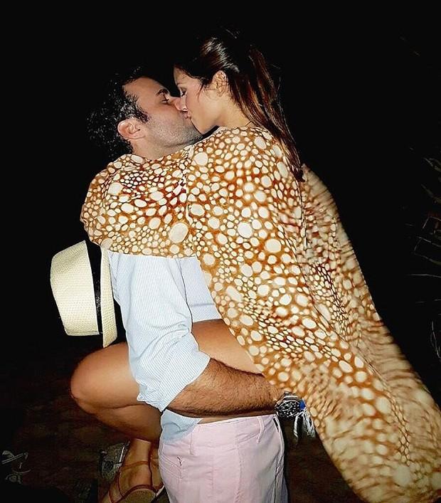 Eduardo Scarpa e Carol Célico (Foto: Instagram / Reprodução)