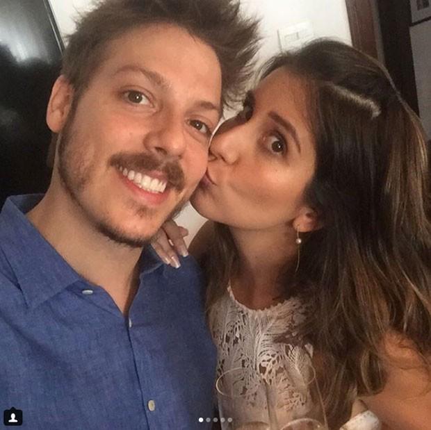 Fábio Porchart e Nataly Mega (Foto: Reprodução Instagram)