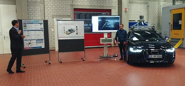 Projeto de carro autônomo inteligente da Bosch (Foto: Alexandre Izo/Autoesporte)
