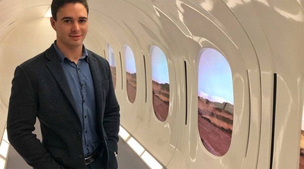 Rodrigo Sá, diretor da Hyperloop TT (Foto: Divulgação)