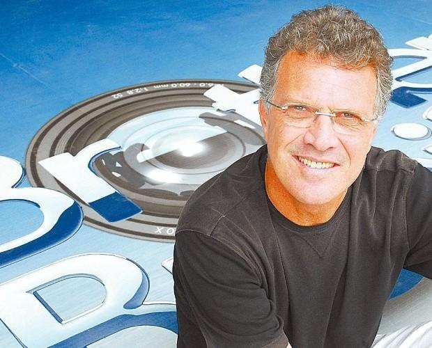 Pedro Bial no BBB 7 (Foto: Divulgação/TV Globo)
