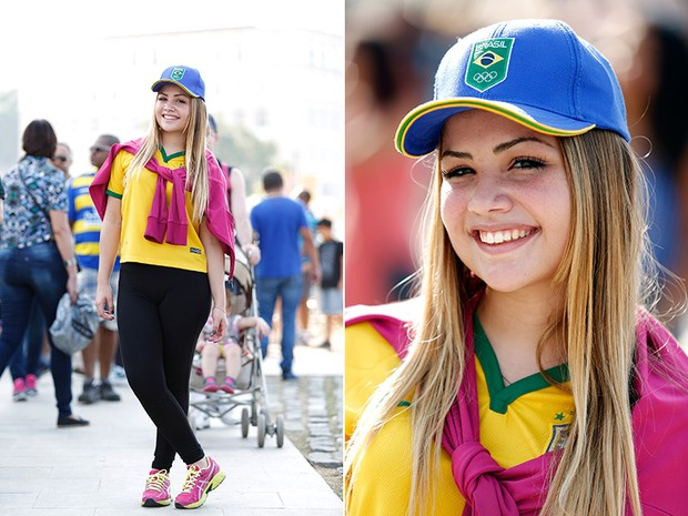 Musas do Boulevard Olímpico - A fluminense Helena Souza, estudante (Foto: Marcos Serra Lima / EGO)