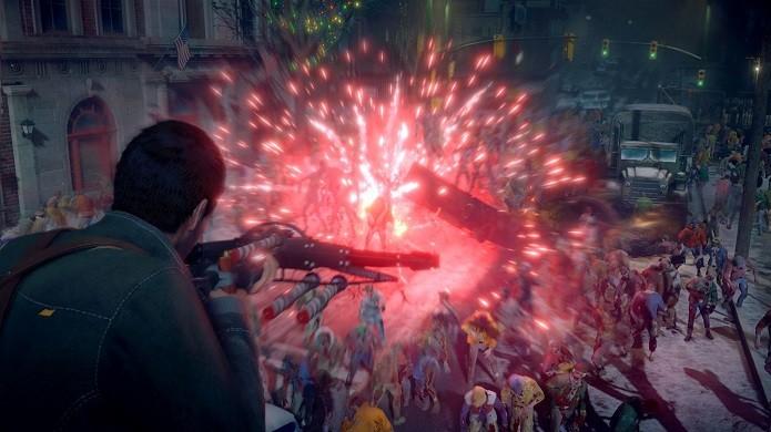 Dead Rising 4: armadura tem pouco tempo de duração, então aproveite (Foto: Divulgação/Capcom)