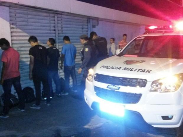 PM realizou operação após mortes em série em Manaus, desde sexta-feira (17) (Foto: Divulgação/Polícia Militar)