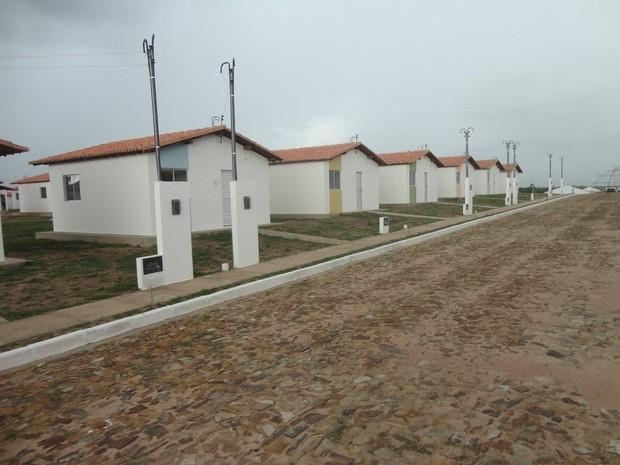 Casas serão entregues no Residencial Dom Rufino em Parnaíba, Litoral do Piauí (Foto: Sombra/PHB)