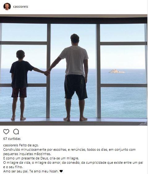Dia dos Pais 2017: a homenagem dos famosos e fashionistas nas redes sociais (Foto: Reprodução/Instagram)