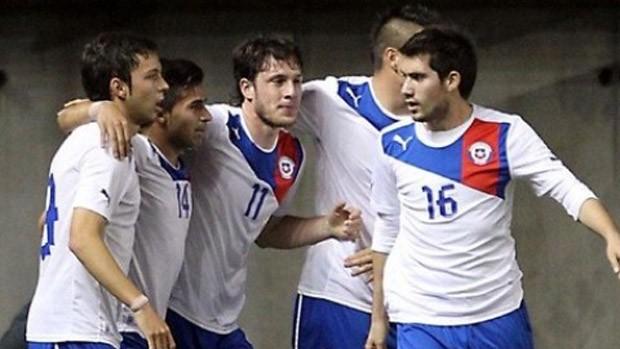 Chile sub20 gol taiti (Foto: Reprodução / site oficial da federação chilena de futebol)