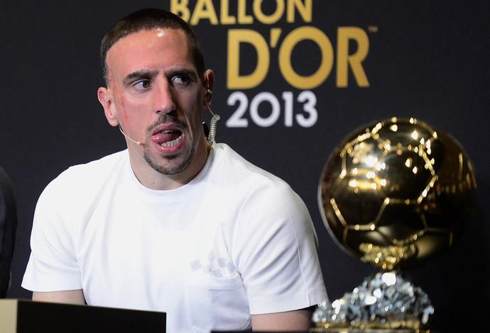 ribery bola de ouro fifa (Foto: AFP)