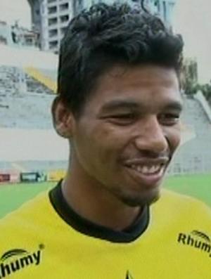 Rodolfo, atacante do Estrela do Norte (Foto: Reprodução/TV Gazeta Sul)