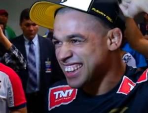 Renan Barão, campeão do UFC (Foto: Reprodução/Inter TV Cabugi)
