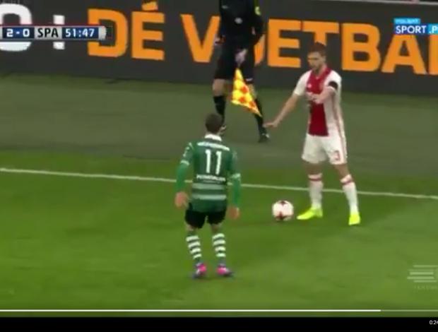 BLOG: Legal o fair pl... Não, pera! Jogador do Ajax dá mau exemplo na Holanda