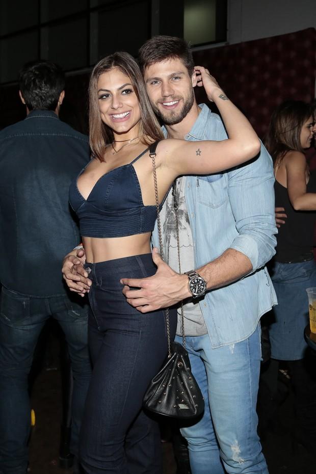 Mari Gonzalez e Jonas Sulzbach (Foto: Rafael Cusato/Brazil News)