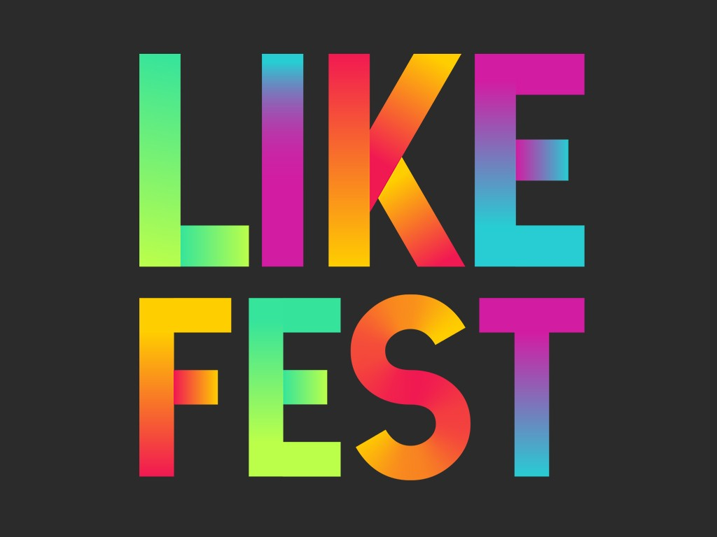O LikeFest  um projeto criado em parceria por Multishow, VIU, Rock in Rio e Digital Stars (Foto: Divulgao)