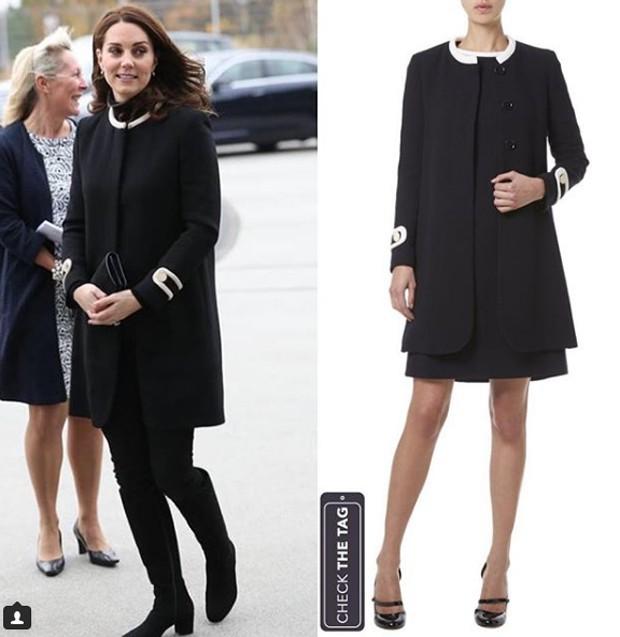 Kate Middleton na Inglaterra (Foto: Reprodução / Instagram)