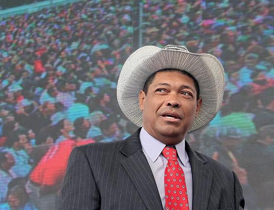 O pastor Valdomiro Santiago (Foto: Leandro Martinsr/Futura Press)