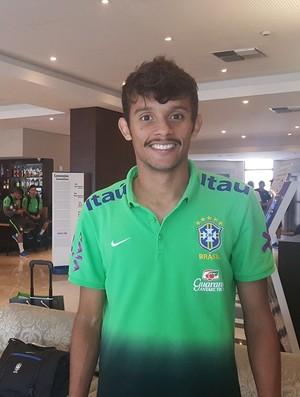 Gustavo Scarpa seleção sub-23 (Foto: Felipe Schmidt / GloboEsporte.com)