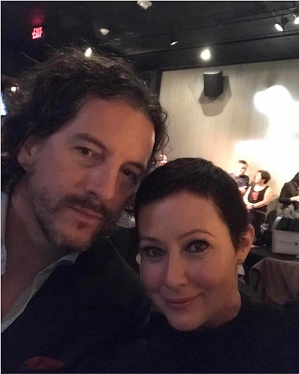 A atriz Shannen Doherty com o marido (Foto:  Instagram)