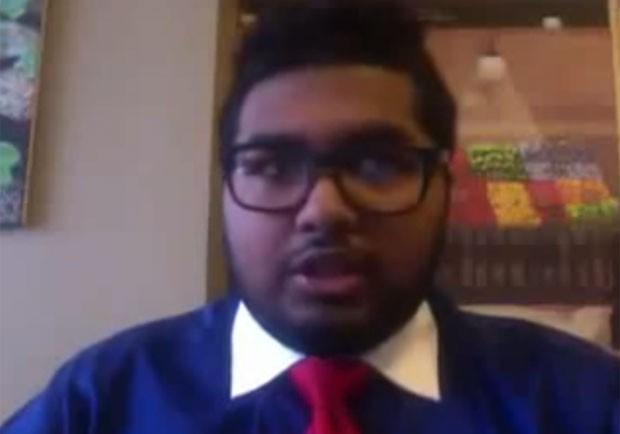 Após dizer ter ganho US$ 72 milhões na Bolsa de NY, jovem diz que mentiu  (Foto: Reprodução/YouTube/DontMissSeen8)