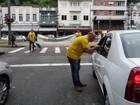 Maio Amarelo pede um trânsito seguro (Fernanda Soares/G1)