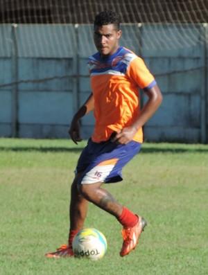 Du, atacante do Grêmio Prudente (Foto: João Paulo Tilio / GloboEsporte.com)