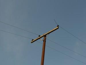 Poste de energia Piracicaba (Foto: Thomaz Fernandes/G1)