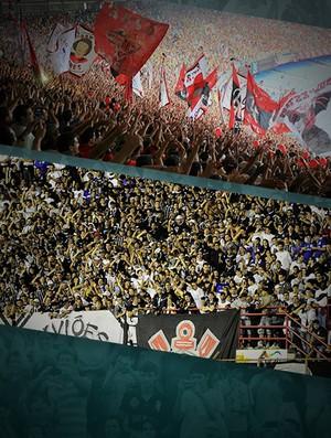 CARROSSEL - Torcidas público Flamengo e Corinthians