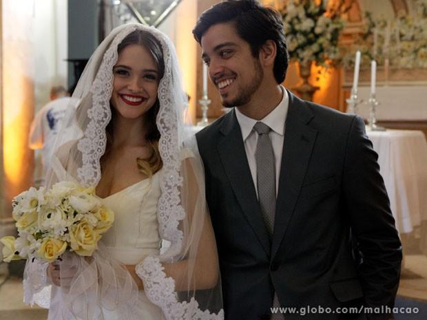 BruTinha é vida, né glr? Muita felicidade pro casal! (Foto: Malhação/ TV Globo)