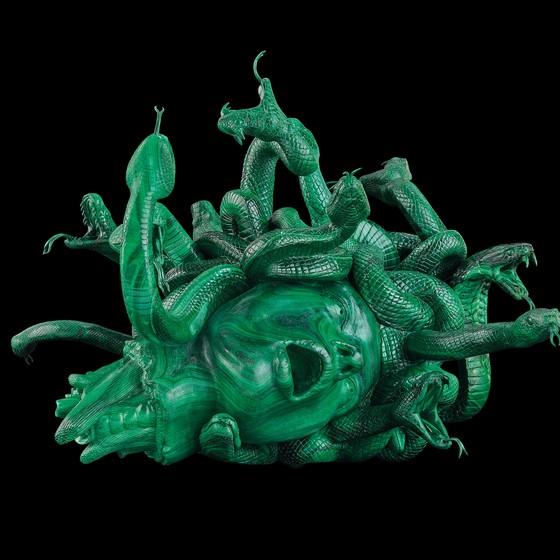 A exposição colossal é considerada a grande prova de fogo do polêmico Damien Hirst  (Foto: Divulgação)