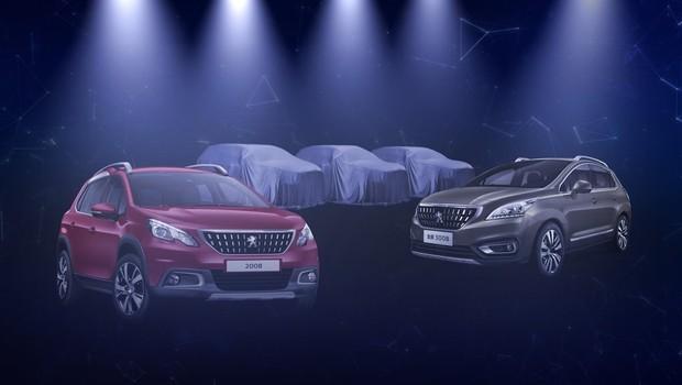Três novos SUVs foram confirmados pela Peugeot (Foto: Reprodução)