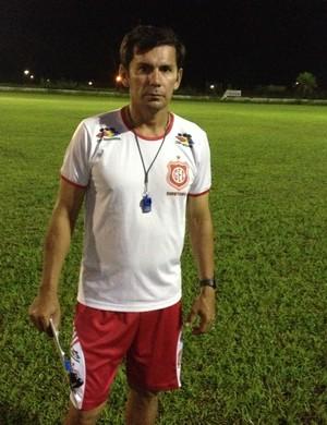 Técnico do Guajará, Hernán Oliveira (Foto: Junior Freitas)