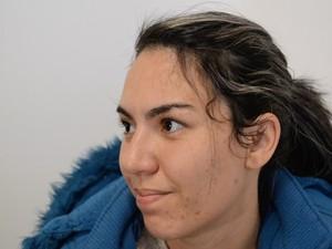Sabrina de Jesus Miranda planejou a morte do pai, em Suzano, diz polícia (Foto: Reprodução/TV Diário)