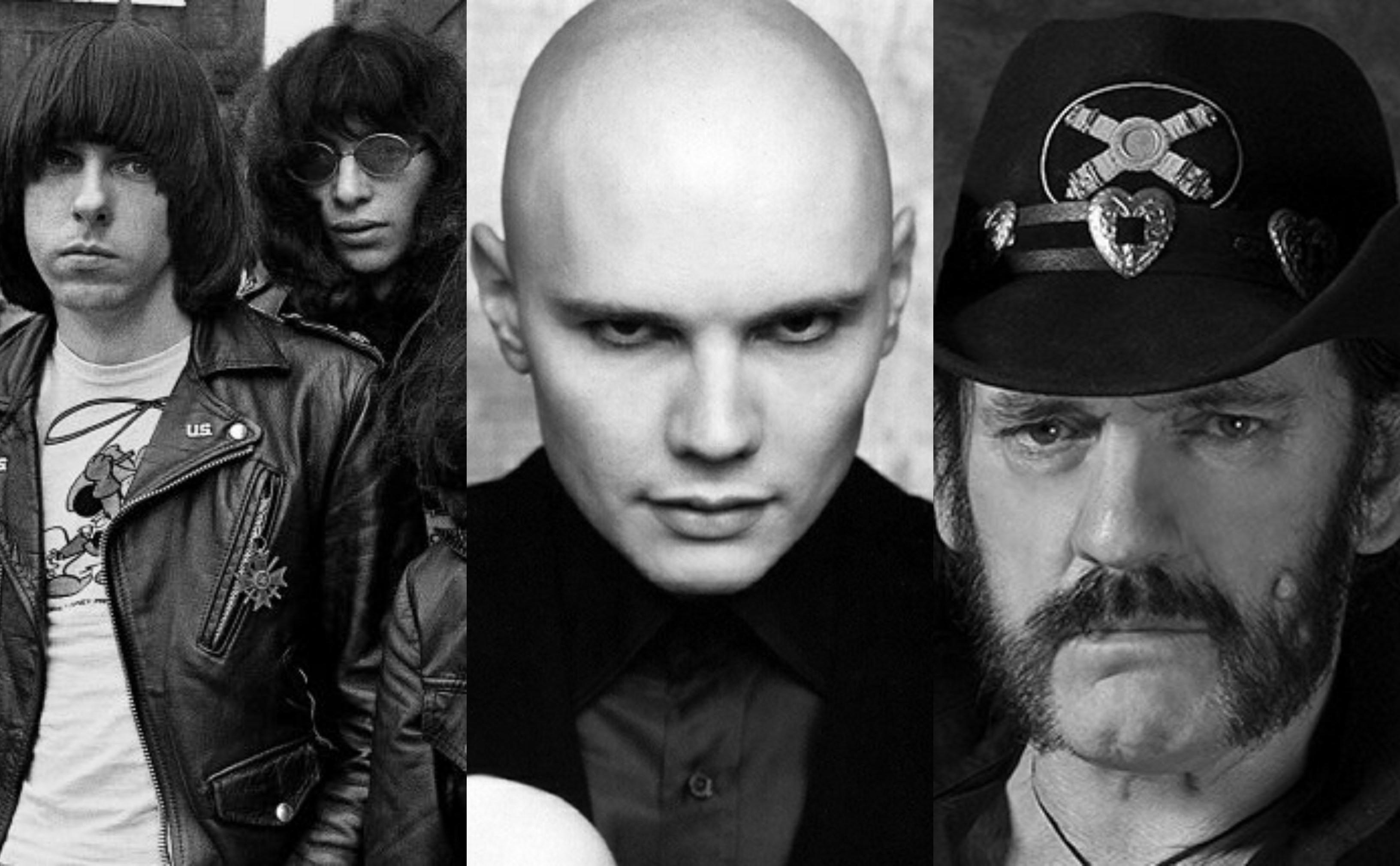 Ramones, Smashing Pumpkins e Lemmy Kilmister no ms de aniversrio do BIS (Foto: Divulgao)