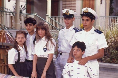 Elenco de 'Vamp' (1991) (Foto: tv globo)