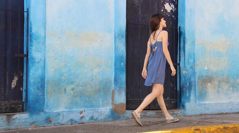 Vestido da Porta-a-Porter: qualidade com preços baixos (Foto: Divulgação)
