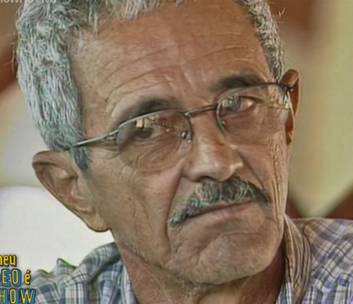 Francisco, pai de Zezé Di Camargo e Luciano, está com enfisema pulmonar (Foto: TV Globo)