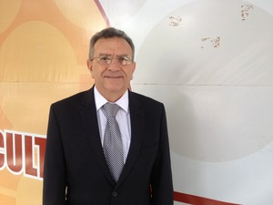 Leocarlos Cartaxo, do Cofen, apresentou pesquisa sobre enfermagem no Brasil, Amapá, Macapá, (Foto: Fabiana Figueiredo/G1)