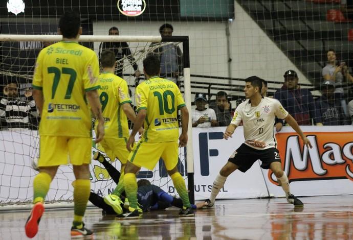 Wilsinho Corinthians x Marechal Rondon LNF (Foto: July Stanzioni/SM Press)