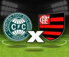 Coritiba x Flamengo (Foto: Arte TV Liberal)